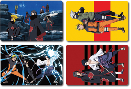 Naruto Shippuden Post Cards officially licensed Naruto Shippuden Stationery product at B.A. Toys.