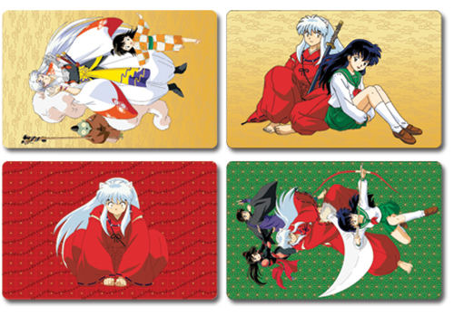 Inuyasha Postcards officially licensed Inuyahsa Stationery product at B.A. Toys.