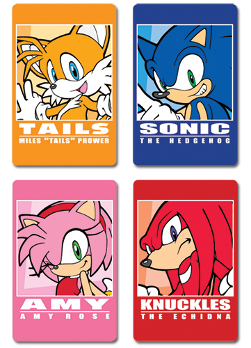 Sonic The Hedgehog Post Card officially licensed Sonic Stationery product at B.A. Toys.