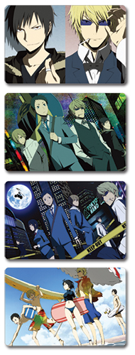 Durarara!! Postcards officially licensed Durarara!! Stationery product at B.A. Toys.