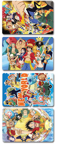 One Piece Post Card officially licensed One Piece Stationery product at B.A. Toys.