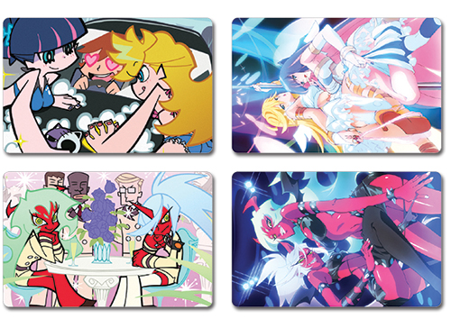Panty And Stocking - Post Card officially licensed Panty & Stocking Stationery product at B.A. Toys.