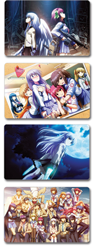 Angel Beats Postcards, an officially licensed Angel Beats Stationery