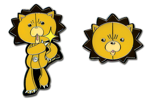 Bleach Kon Wazzup & Head Pin Set officially licensed product at B.A. Toys.