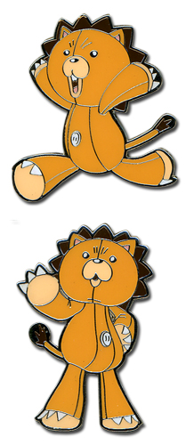 Bleach Kon Running & Pointing Pin Set, an officially licensed Bleach product at B.A. Toys.