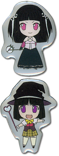 Rosario Vampire Yukari And Rubi Pinset, an officially licensed product in our Rosario Vampire Pins & Badges department.