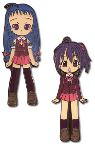 Negima Nodoka & Yue Metal Pin Set, an officially licensed product in our Negima Pins & Badges department.
