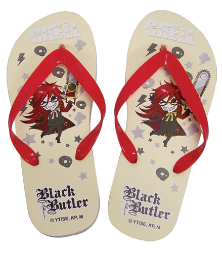Black Butler Sd Grell Sandal Uni-Sex ( 26 Cm), an officially licensed product in our Black Butler Sandals department.