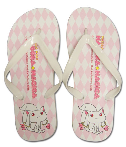 Madoka Magica Kyubey Girl's Sandals, an officially licensed product in our Madoka Magica Sandals department.
