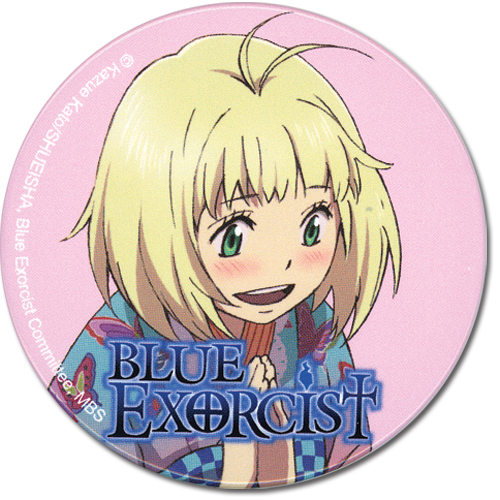 Blue Exorcist Shiemi 2 Button, an officially licensed Blue Exorcist product at B.A. Toys.