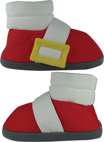Sonic The Hedgehog - Sonic Plush Slippers, an officially licensed product in our Sonic Costumes & Accessories department.