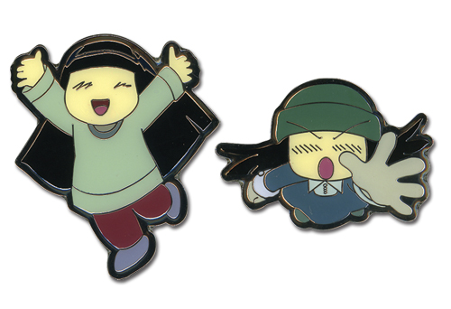Wallflower Sunako Metal Pin Set, an officially licensed product in our Wallflower Pins & Badges department.