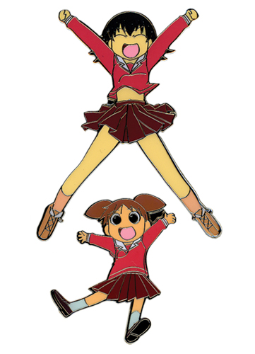 Azumanga Daioh Chiyo & Tomo Metal Pin Set, an officially licensed Azumanga Pin / Badge
