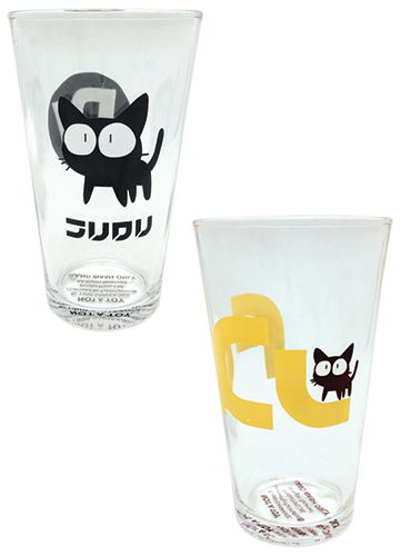 Flcl - Set 1 Waterglass officially licensed Flcl Mugs & Tumblers product at B.A. Toys.