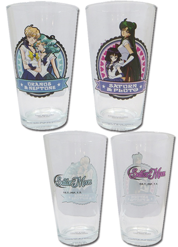 Sailor Moon - Set 3 Waterglass, an officially licensed product in our Sailor Moon Mugs & Tumblers department.