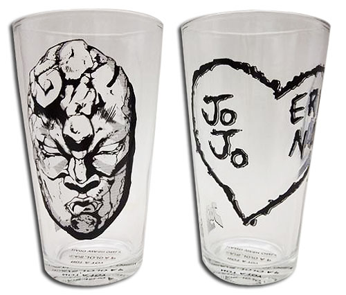 Jojo'S Bizarre Adventure - Set 2 Waterglass officially licensed Jojo'S Bizarre Adventure Mugs & Tumblers product at B.A. Toys.