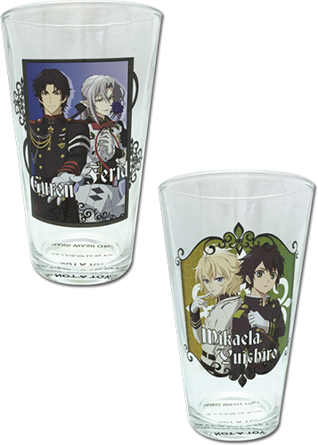 Seraph Of The End - Set 1 Waterglass officially licensed Seraph Of The End Mugs & Tumblers product at B.A. Toys.