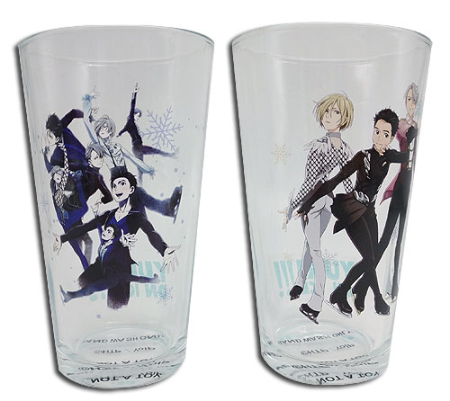 Yuri On Ice!!! - Set 1 Waterglass, an officially licensed product in our Yuri!!! On Ice Mugs & Tumblers department.