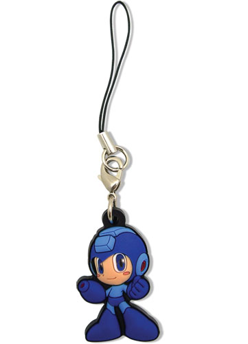 Mega Man Powered Up Mega Man Pvc Cell Phone Charm, an officially licensed product in our Mega Man Costumes & Accessories department.