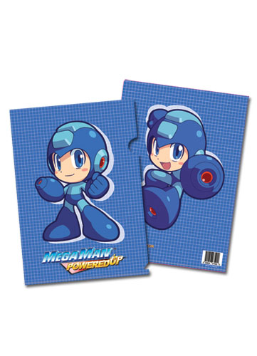 Megaman Powered Up Megaman File Folder (5 Pcs Pack), an officially licensed product in our Mega Man Binders & Folders department.