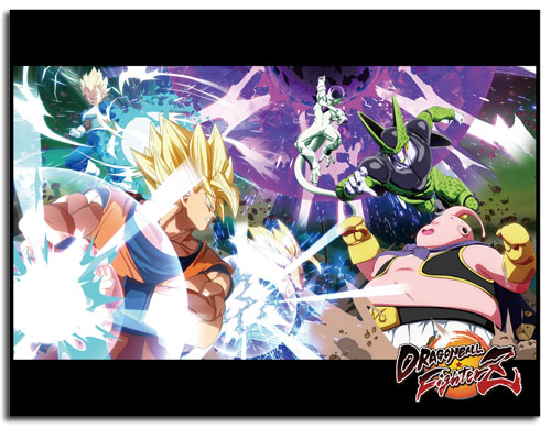 Dragon Ball Fighterz - Key Art Sublimation Throw Blanket, an officially licensed product in our Dragon Ball Fighter Z Blankets & Linen department.