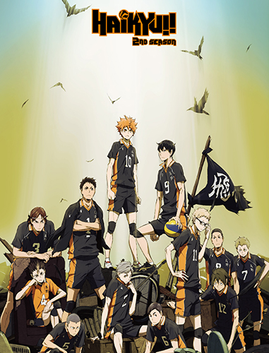 Haikyu!! S2 - Keyart Sublimation Throw Blanket, an officially licensed product in our Haikyu!! Blankets & Linen department.