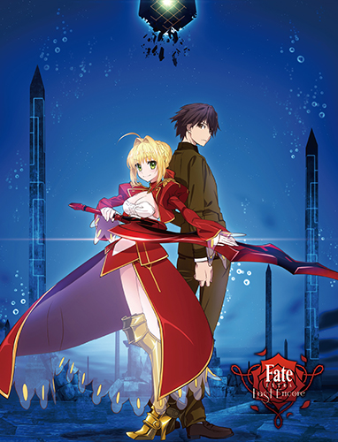 Fate/extra Last Encore - Key Art 3 Sublimation Throw officially licensed Fate/Zero Blankets & Linen product at B.A. Toys.