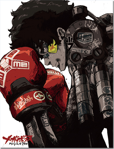 Megalobox - Key Art Sublimated Throw Blanket, an officially licensed product in our Megalobox Blankets & Linen department.