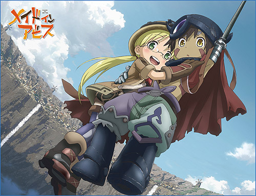Made In Abyss - Riko & Regu 1 Sublimated Throw Blanket, an officially licensed product in our Made In Abyss Blankets & Linen department.