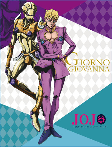 Jojo - Giorno Sublimated Throw Blanket, an officially licensed product in our Jojo'S Bizarre Adventure Blankets & Linen department.