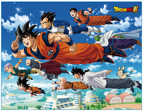 Dragon Ball Super - Universal Survival Group Sublimated Throw Blanket, an officially licensed product in our Dragon Ball Super Blankets & Linen department.