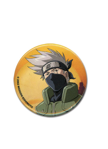 Naruto Kakashi Button, an officially licensed product in our Naruto Buttons department.