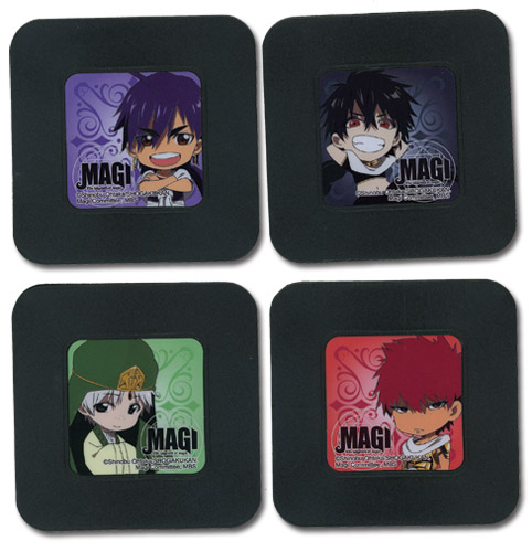 Magi Set 2 Coasters officially licensed Magi Coasters product at B.A. Toys.