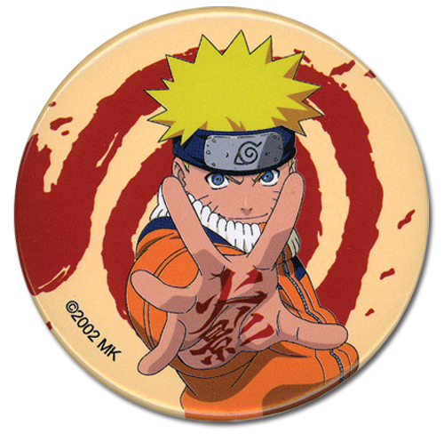 Naruto Naruto Button, an officially licensed product in our Naruto Buttons department.