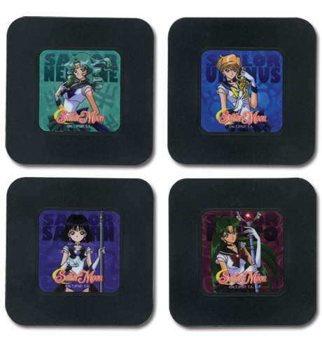 Sailor Moon - Set 3 Coaster, an officially licensed product in our Sailor Moon Coasters department.