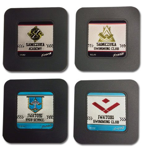 Free! - Set 2 Coaster, an officially licensed product in our Free! Coasters department.