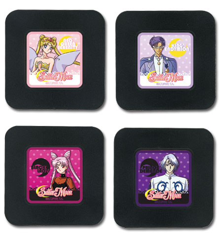Sailor Moon R - Set 2 Coaster, an officially licensed product in our Sailor Moon Coasters department.