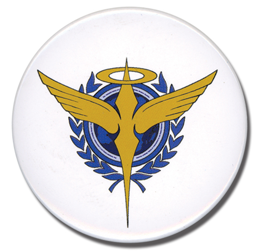 Gundam 00 Celestial Being Button, an officially licensed product in our Gundam 00 Buttons department.