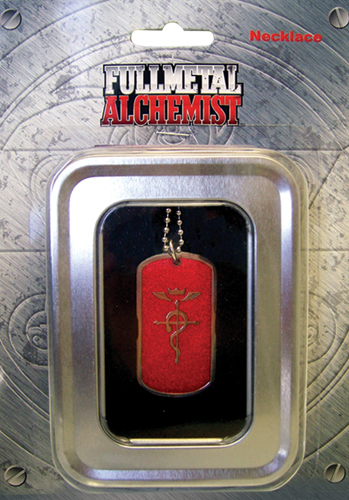 Fullmetal Alchemist Alphone Necklace, an officially licensed product in our Fullmetal Alchemist Jewelry department.