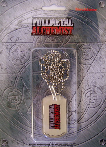 Fullmetal Alchemist Logo Necklace, an officially licensed product in our Fullmetal Alchemist Jewelry department.