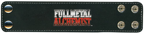 Fullmetal Alchemist Logo Wristband officially licensed product at B.A. Toys.