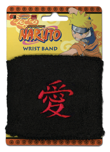 Naruto Gaara Sign Wristband, an officially licensed product in our Naruto Wristbands department.