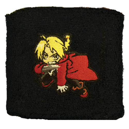 Fullmetal Alchemist Edward Wristband, an officially licensed Full Metal Alchemist Wristband