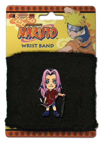 Naruto Sakura Wristband, an officially licensed product in our Naruto Wristbands department.