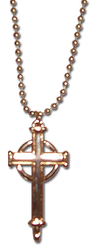 Trinity Blood Celtic Style Cross Necklace, an officially licensed product in our Trinity Blood Jewelry department.