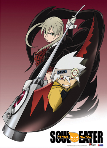 Soul Eater Maka & Soul Fabric Poster, an officially licensed product in our Soul Eater Posters department.