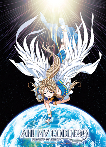 Ah!! My Goddness Belldandy Fabric Poster officially licensed product at B.A. Toys.