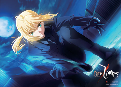 Fate/zero Saber Fabric Poster, an officially licensed Fate Zero Poster
