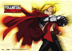 Full Metal Alchemist - Ed Fabric Poster officially licensed Fullmetal Alchemist Posters product at B.A. Toys.