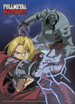 Full Metal Alchemist - Ed Vs. Ai Fabric Poster officially licensed Fullmetal Alchemist Posters product at B.A. Toys.